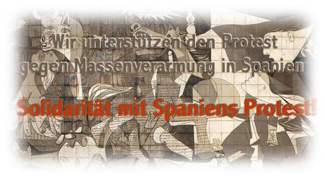 Unterstützungsseite für Widerstand in Spanien Logo