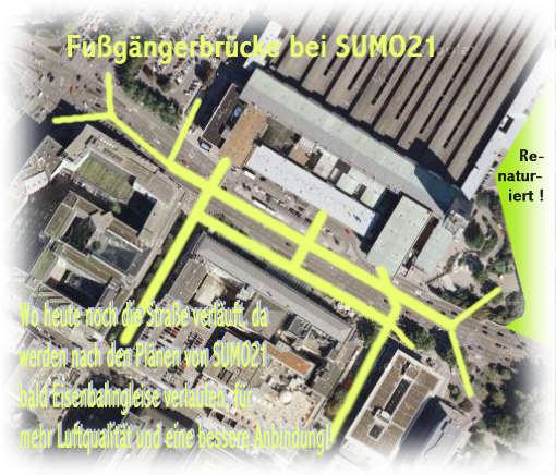 Brücken bei SUMO21